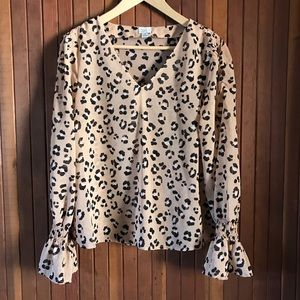 A New Day Leopard Blouse